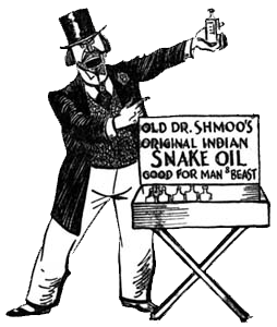 snakeoil Dont Be Shocked By Running Gimmicks
